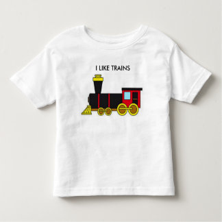 I Like Trains Toddler T-shirt