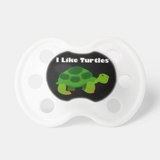 I Like Turtles - 0-6 months BooginHead® Pacifier Pacifier