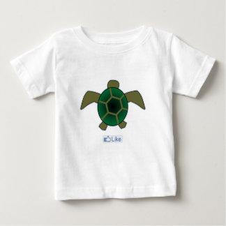 I Like Turtles Baby T-Shirt