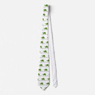 I Like Turtles Green Cute Tie
