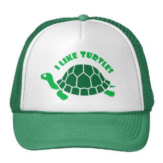 I Like Turtles Hat