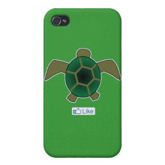 I Like Turtles iPhone 4 Case