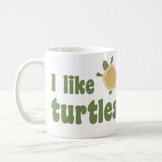 I Like Turtles Classic White Coffee Mug