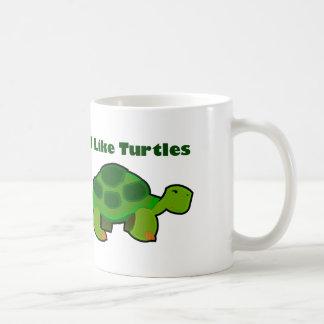 I Like Turtles - White 11 oz Classic White Mug Coffee Mug