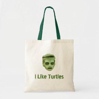 I Like Turtles Zombie Kid Bag