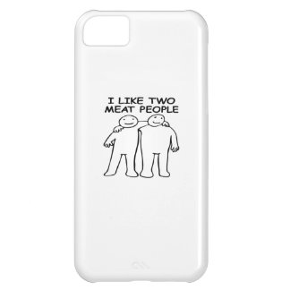 I LIKE TWO MEAT PEOPLE iPhone 5C COVERS