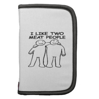 I LIKE TWO MEAT PEOPLE FOLIO PLANNERS