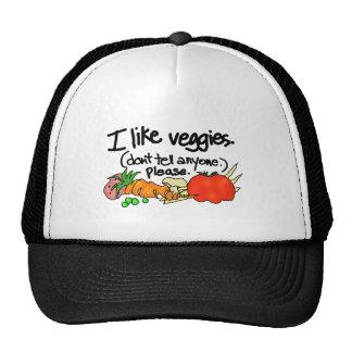 I Like Veggies Trucker Hat