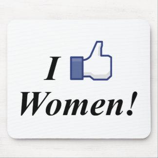 I LIKE WOMEN! MOUSE PAD