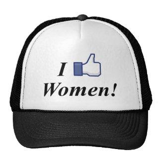 I LIKE WOMEN! TRUCKER HAT