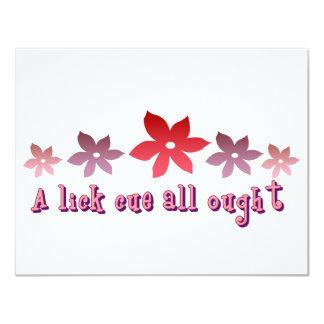 I Like You A Lot Card