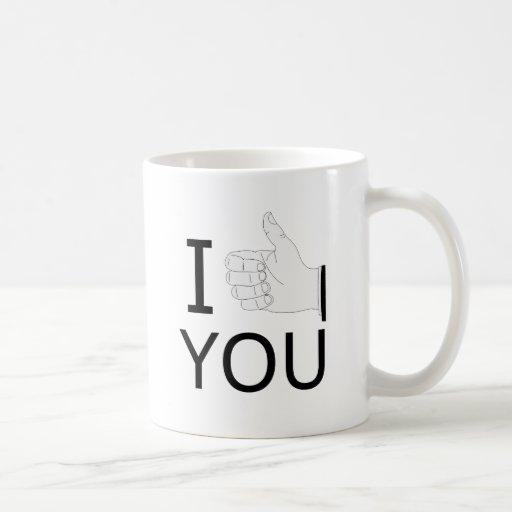 I LIKE YOU CLASSIC WHITE COFFEE MUG
