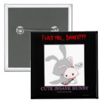 I like you... Dinner??? Pinback Button