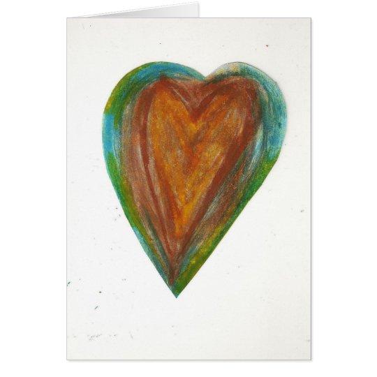 I Like You Grunge Valentine Card