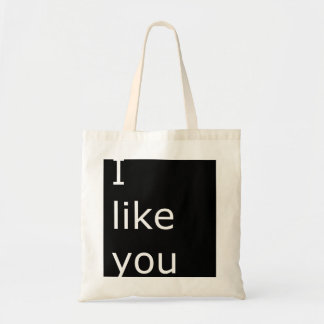 I like you handbag tote bag
