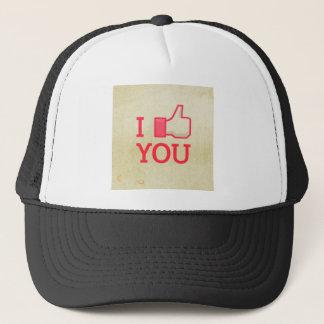 I LIKE YOU I taste of you Trucker Hat