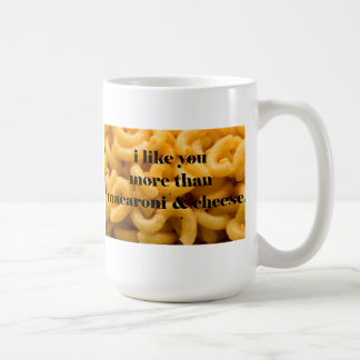 i like you- mac and cheese coffee mug