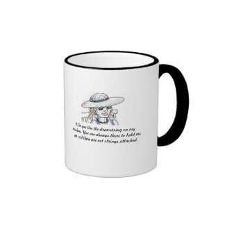 I Like You Ringer Coffee Mug