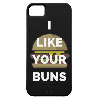 I Like Your Buns Hamburger Humor Illustration iPhone SE/5/5s Case
