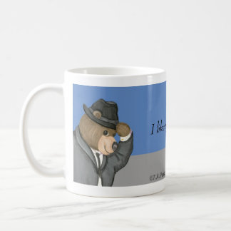 I like your style! Fedora Bear Mug