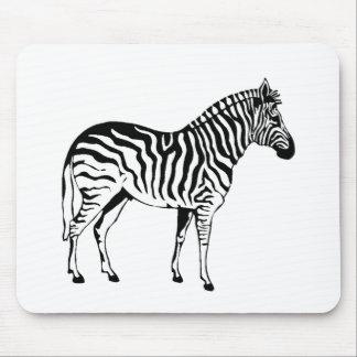I Like Zebras Mouse Pad