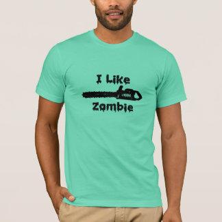 i like zombie t-shirt