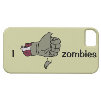I like zombies case with thumb falling off iPhone 5 cover