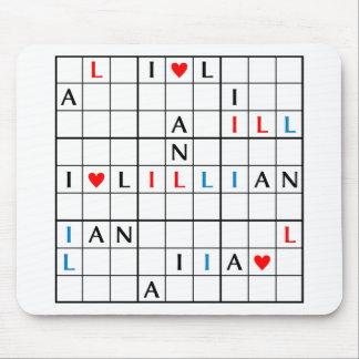 I♥LILLIAN ALFOMBRILLA DE RATÓN