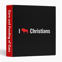 I Lion Christians Binder