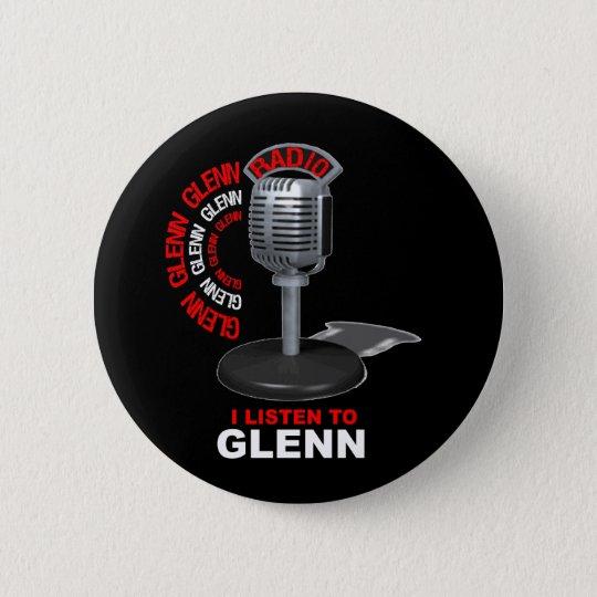 I Listen to Glenn Beck Button