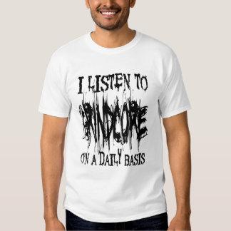 I Listen To Grindcore T-shirt