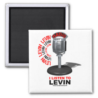 I Listen To Levin Magnet