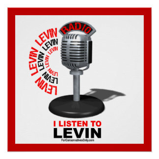 I Listen To Levin Poster