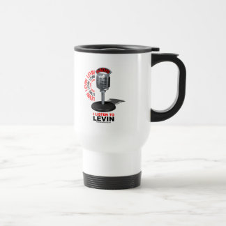 I Listen To Levin Travel Mug