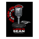 I Listen to Sean Post Cards