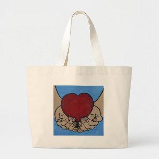 I live 4 U Large Tote Bag