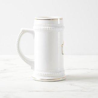 I Live for Beer Stein mug