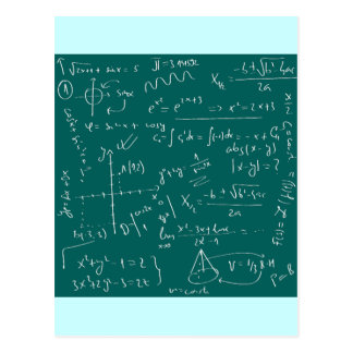 I Live For Math Postcard
