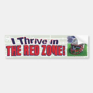 I Live for the Goal-Line Stand! Bumpersticker Bumper Sticker