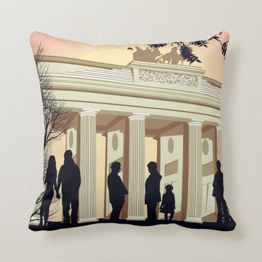 I Live In Berlin Pillow