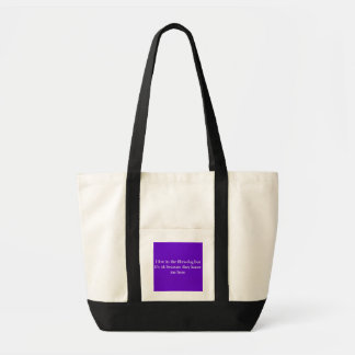I live in the fibro-fog but it's ok because the... tote bag