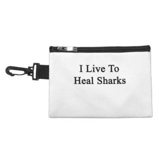 I Live To Heal Sharks Accessory Bag