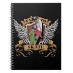 I Live To Skate Notebook