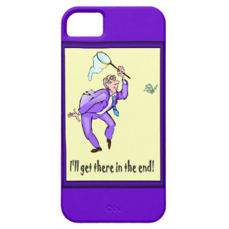 I ll get there in the end iPhone 5 cover
