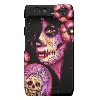 I ll Never Forget Day of the Dead Girl Motorola Droid RAZR Cover