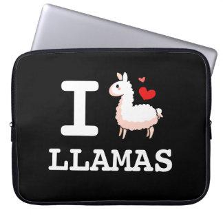 I Llama Llamas Computer Sleeve