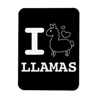 I Llama Llamas Flexible Magnet