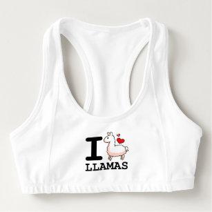 6892b0e590597 Women s Llama Sports Bras