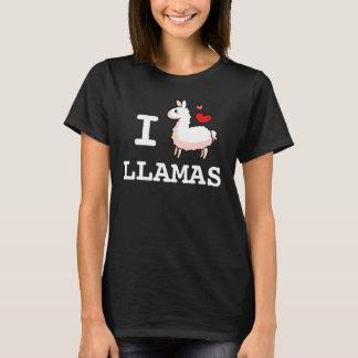 I Llama Llamas T-Shirt