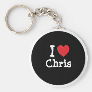 I llavero de Chris del corazón